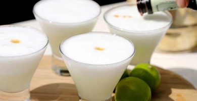 pisco sour ingredientes