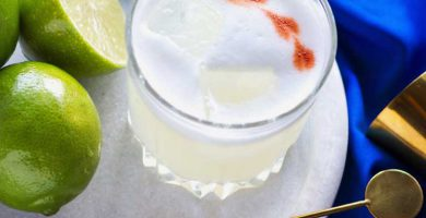 pisco sour coctel